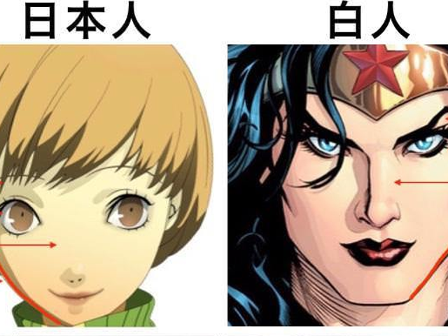 The Debate Over Whether Anime-Style Characters Look Japanese