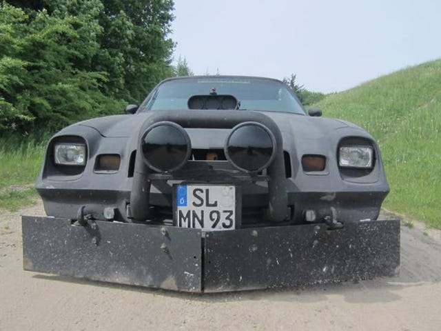 Ghost car: A Camaro used in the Bosnian war in the 90s.