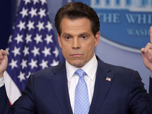 Things Anthony Scaramucci Said In The Interview Where He Talked About Steve Bannon Sucking His Own Cock, Ranked