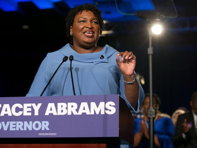 Why Play 'Duck Duck Goose' When You Can Pretend to Be 'President of the World,' Like Stacey Abrams Did?