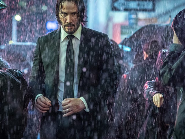 Parabellum is a less elegant but still thrilling rampage for the man, the myth, the legend: John Wick
