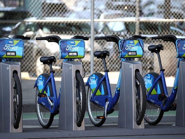 Lyft stämmer San Francisco för att hålla cykeluthyrningskonkurrenter ute
