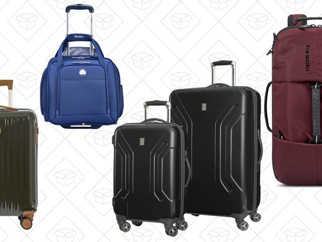 Roll Through the Airport In Style With Amazon's Big Luggage Sale