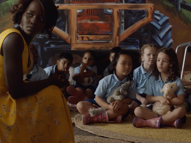 Lupita Nyong'o Is a Ukulele-Strumming, Zombie-Punching Teacher in Little Monsters