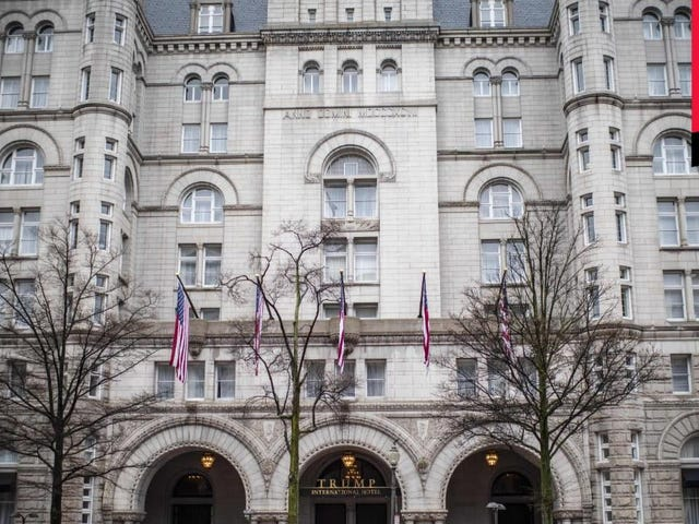 Trump Hotel Asks President Trump for a Rent Reduction
