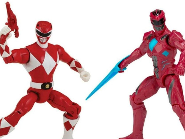 These 'Then and Now' <i>Power Rangers</i> Action Figure Sets Are Not Doing the Movie Any Favors