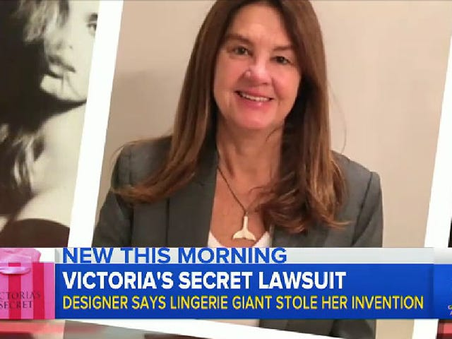 Did Victoria's Secret Steal a Push-Up Bra Design From This Woman?