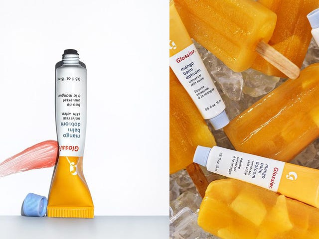 Glossier Just Launched a Juicy New Mango Balm Dotcom