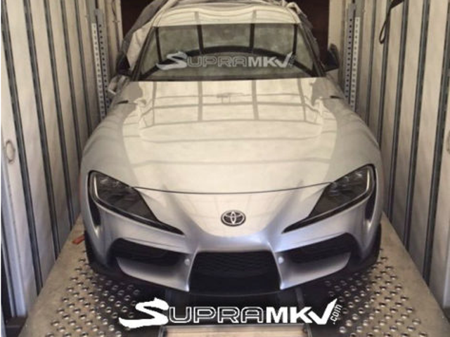 new Supra clear look at front
