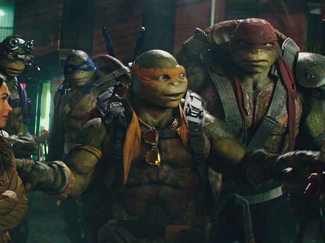 Vänta, Är <i>Teenage Mutant Ninja Turtles</i> Sequel Egentligen ... Bra?