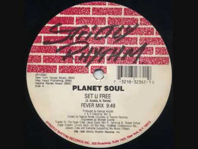 Planet Soul — 'Set U Free - Fever Mix'
