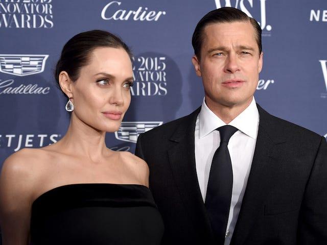 Brad Pitt en Angelina Jolie's echtscheiding worden gewoon lelijker