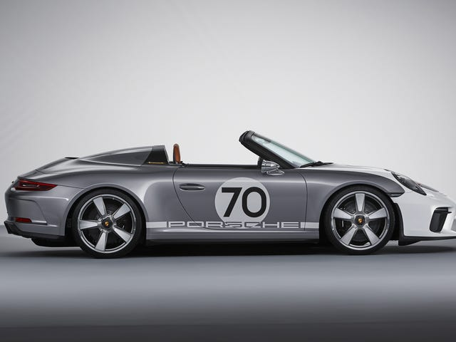 The Porsche 911 Speedster Concept Is A 500 HP Throwback Designed To Perfection