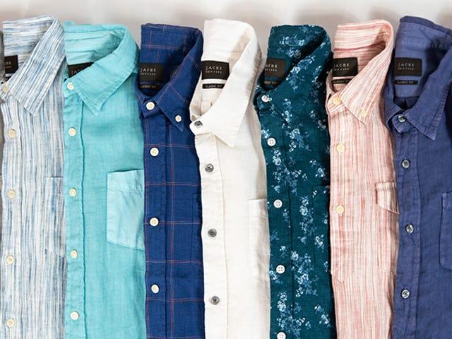 Save 60% On Jach's Lightweight Linen Shirts Built For Summer (From $28)