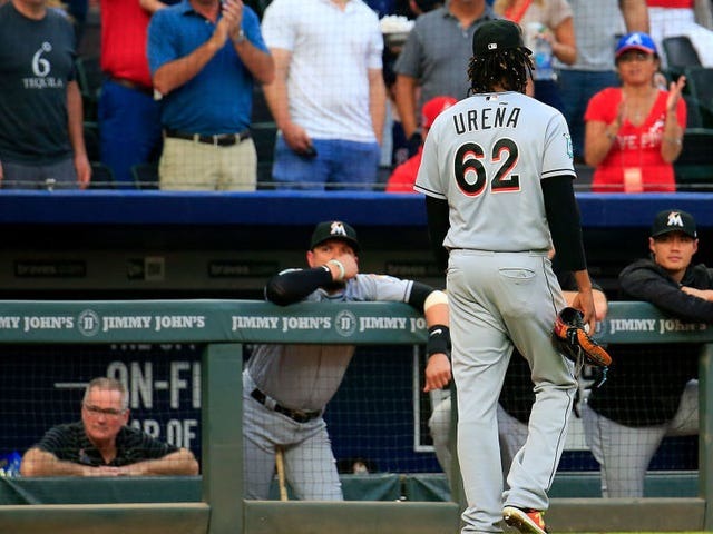 Don Mattingly Will Protect The Cowardly Jose Ureña From Comeuppance