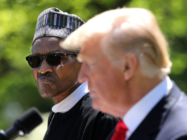 Nigerian President Says He's Not a Clone Which Is Probably Something a Clone Would Say