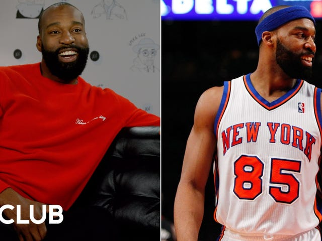 Avevamo l'All-Star Baron Davis con tutte le maglie che ha sfoggiato durante la sua carriera nell'NBA