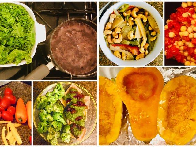 22 μέρες κατανάλωσης όπως η Beyoncé, 16η ημέρα: Ναι, μπορώ να μαγειρέψω επίσης