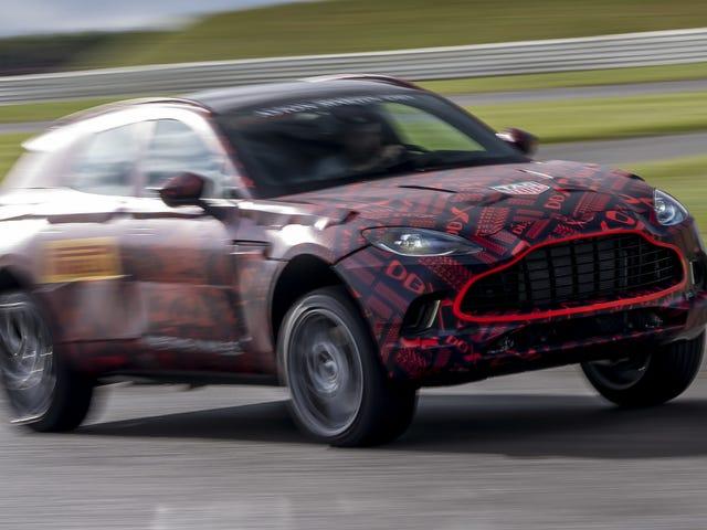 Động cơ AMG 542-HP sẽ giúp bạn cảm thấy tốt hơn về chiếc Aston Martin DBX?