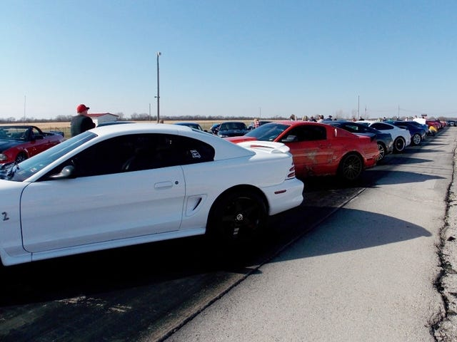 I Attended a Gathering of Mustangs this past weekend...
