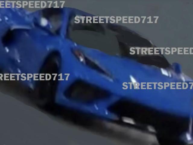 Est-ce la Corvette Mid-Engine avant que vous ne deviez la voir?