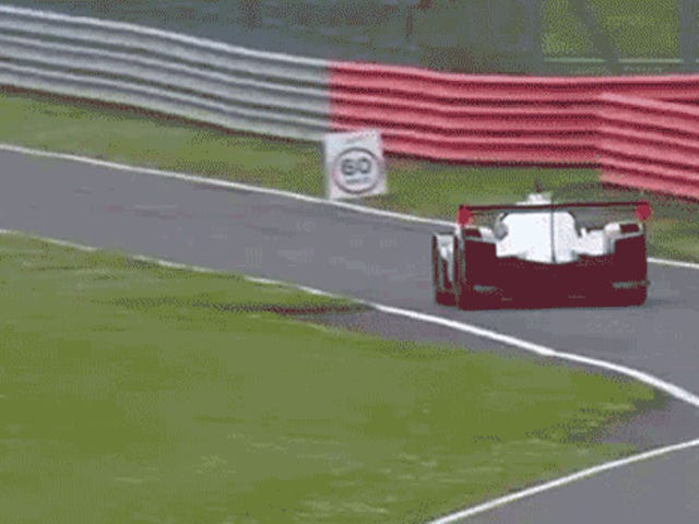 How Not To Enter The Pit Lane