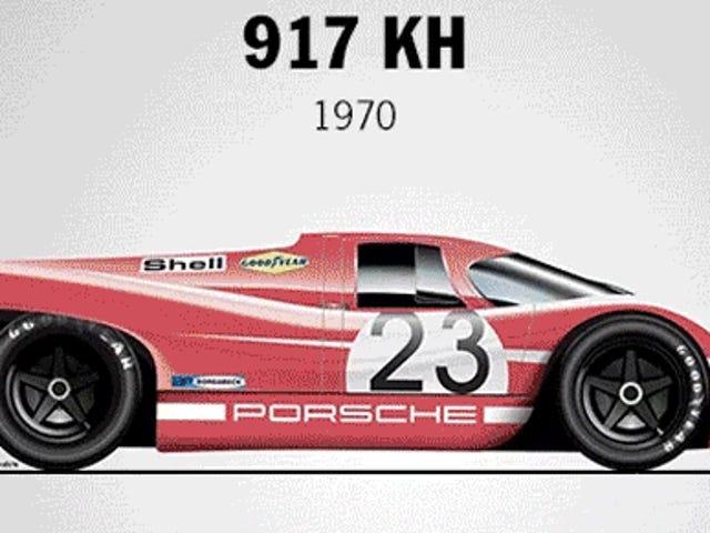Her er hver Porsche Le Mans-vinder