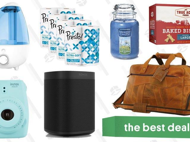 Torstain parhaat tarjoukset: Tyhjennä teline, Sonos One, älykkäät lamput ja muut