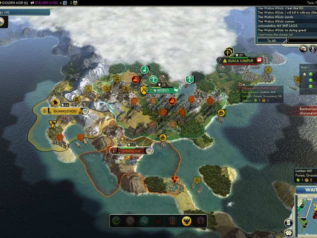 me and my friends had an intense civ 5 match