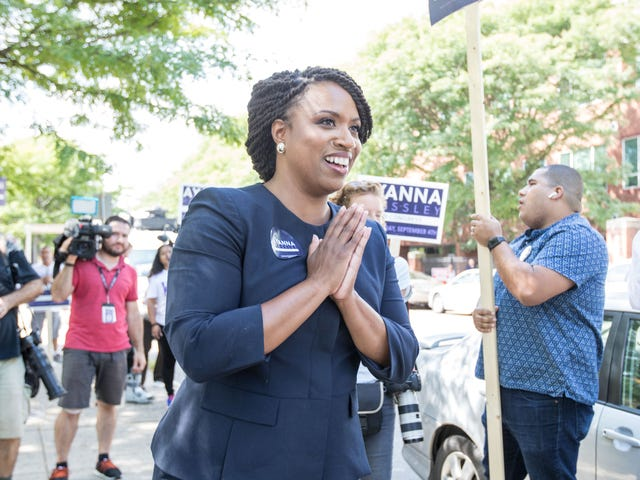 Watch: Ayanna Pressley, Who May Become 1st Black Massachusetts Rep Elected to Congress, Reacts to Upset Victory