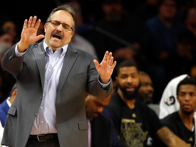 Pistons Fire Stan Van Gundy, And It Looks Like The Coach-GM Hybrid Job Is Dying