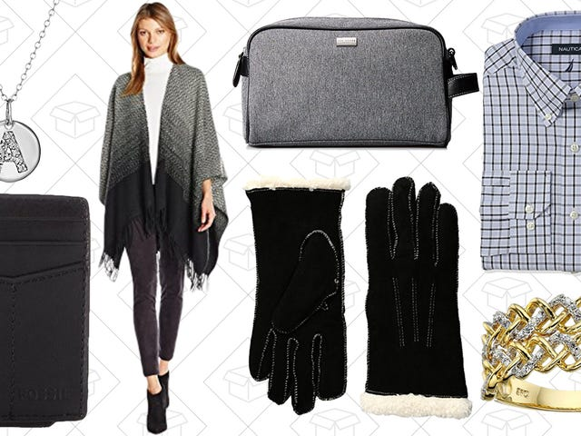 Clothing, Jewelry, and More are Under $50 in Amazon's One-Day, Last Minute Gift Sale