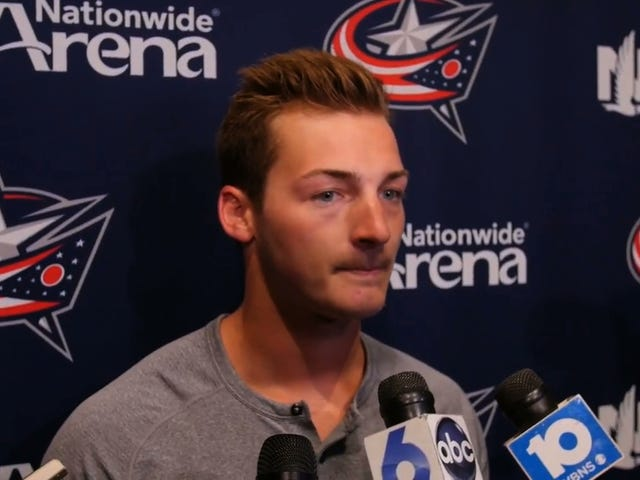 Blue Jackets Prospect Who Thought He Had Serious Disease Instead Crapped Out 25-Inch Tapeworm