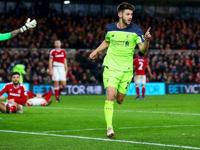 Liverpool Are A Tank, And Adam Lallana Is The Engine