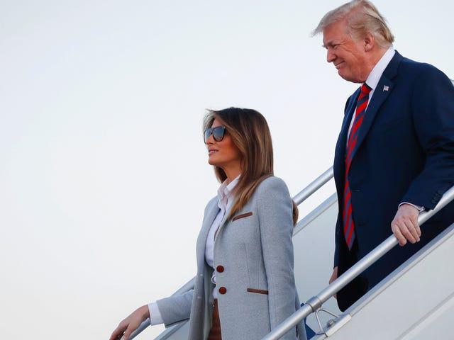 व्हाइट हाउस: मेलानिया ने डोनल्ड को शिट नहीं कहा
