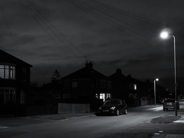Somewhere out of a memory. Of lighted streets on quiet nights.