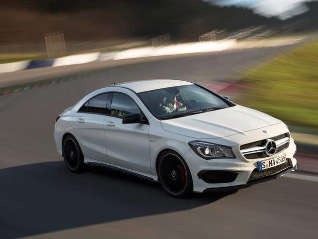 Υπενθύμιση: Μπορείτε να αγοράσετε ένα 355 HP Turbo-Four Mercedes AMG για την τιμή ενός πολιτικού