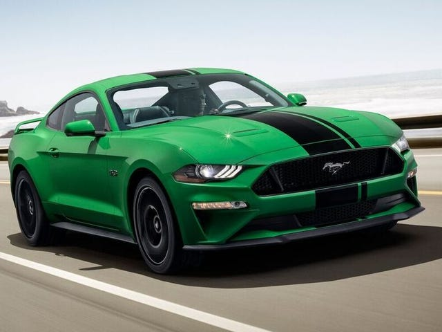 The Ford Mustang Cements 2018 As The Year Of The Green Comeback