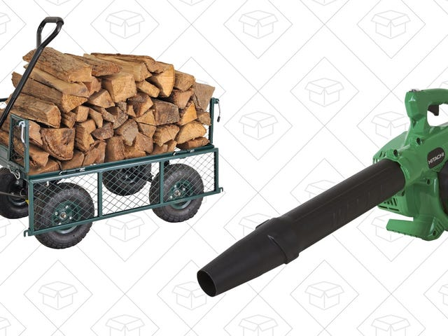 Make Fall Yard Work Easier With a Pair of Great Deals
