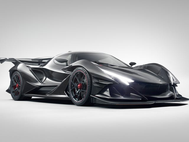 Apollo Intensa Emozione är ett V12-monster som gör en Lamborghini Look Tame