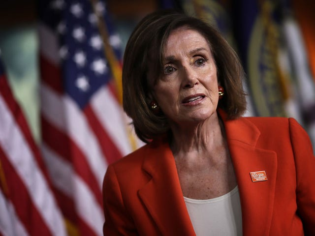 Nancy Pelosi to Dems: I Don't Want to See Him Impeached, I Want to See Him in Jail! Suurrrreeeeee She Does