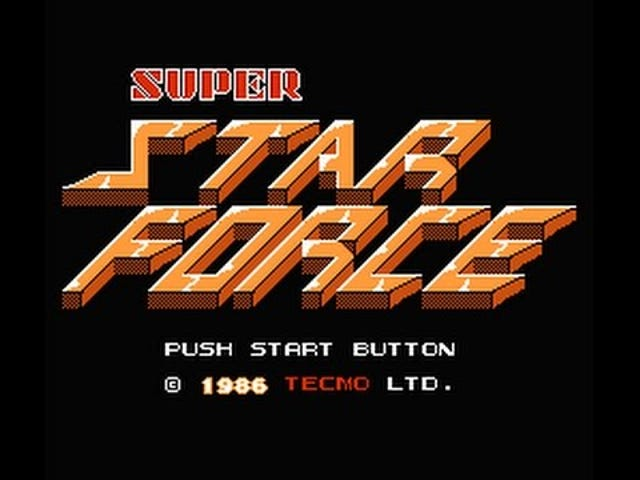 Sena TAY Retro: Famicom |  Super Star Force |  TV Kommersiell (JP)
