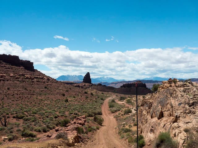 Bears ears day 4 - The long mystery road. Also the road home
