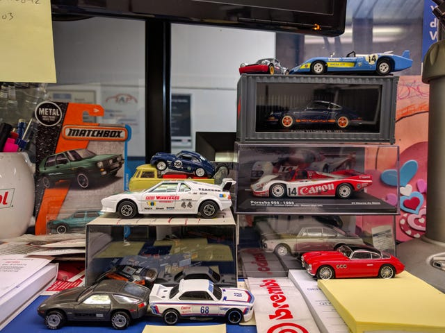 Haiku Humpday: The cars of my desk