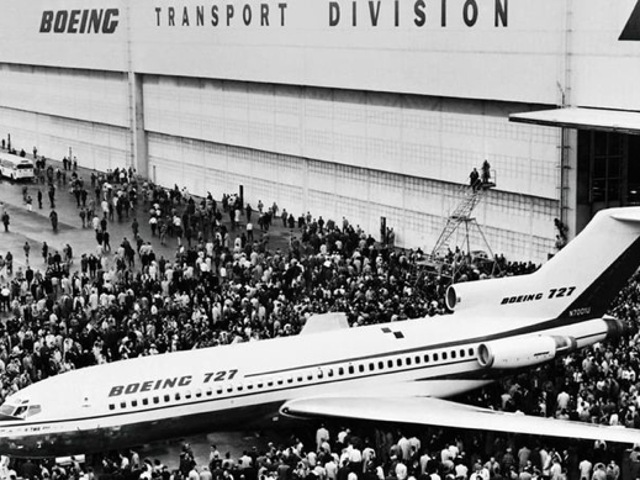 last Boeing 727 retired from passenger service