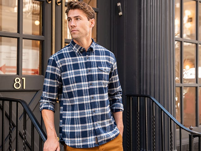 Get Cozy in Three New Fall Flannels For $100, or One Flannel For $39 From Jachs
