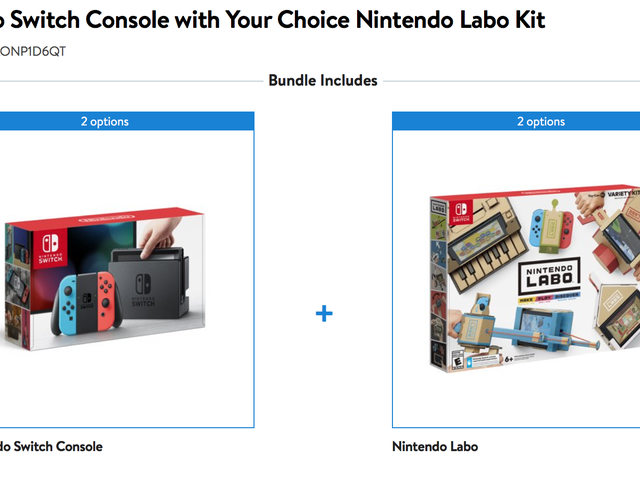 Buy a Nintendo Switch, Save Up to $40 On a Labo Kit