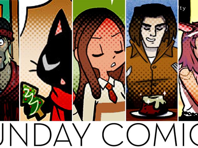 Sunday Comics: No Man's Update
