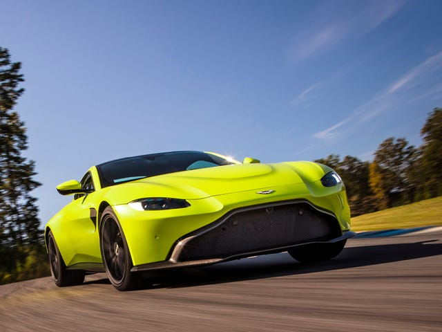 Here's Why The New Aston Martin Vantage Abandoned A Traditional Grille