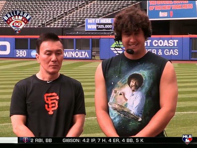Giants Pitcher Derek Holland Uses Asian Team Staffer For Stale, Racist Jokes On MLB Network